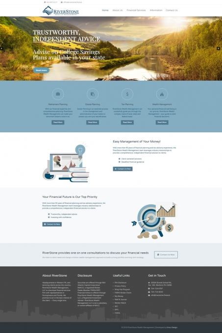 RiverStone Wealth Management Website