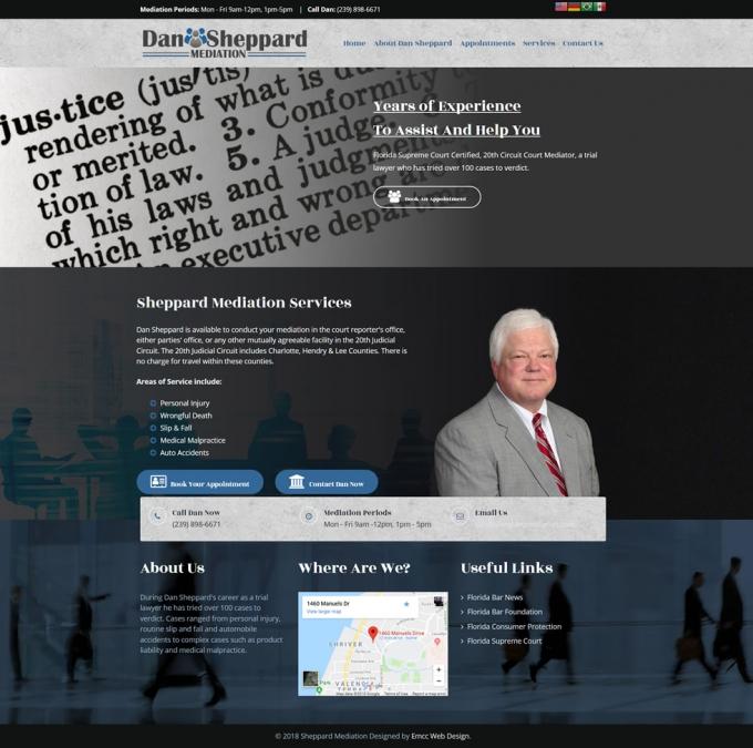 Dan Sheppard Mediation Website