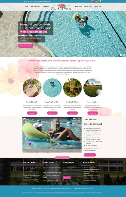 Casa Di Fiori Website