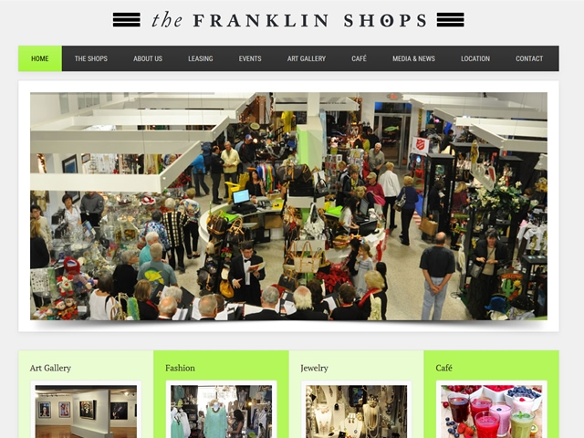 The Franklin Shops Website
